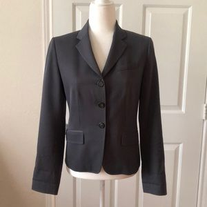 Jcrew dark gray blazer size 4